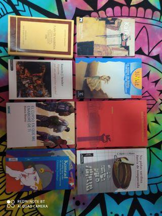 lote de libros de lectura