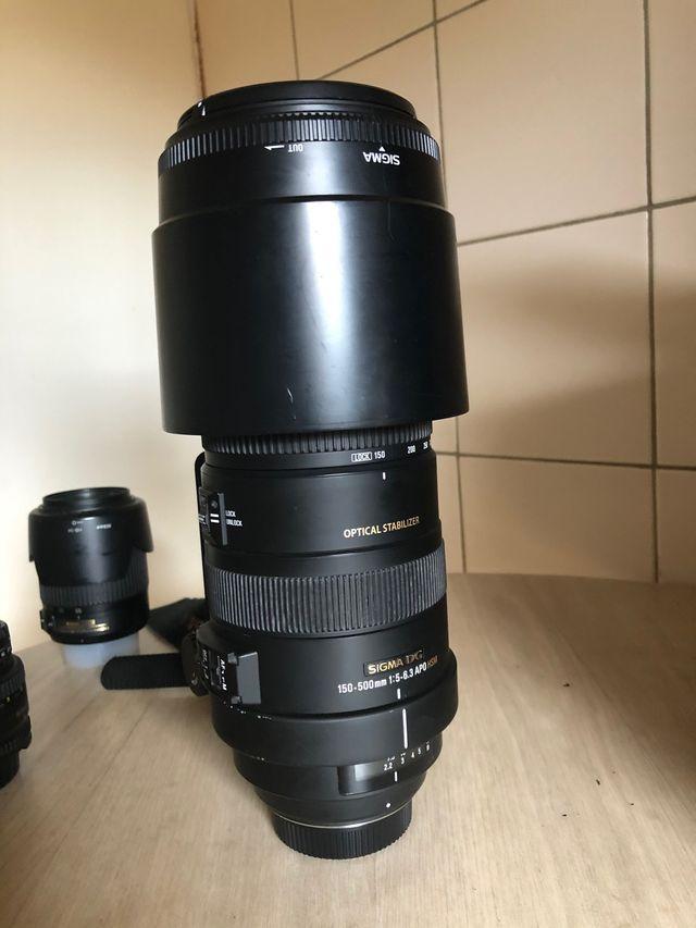 Sigma DG 150-500 1:5 6.3 APO HDM