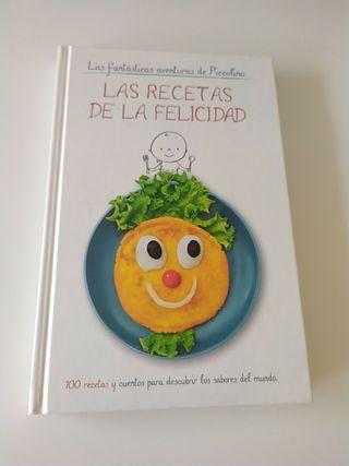 """Libro """" Las recetas de la felicidad"""""""