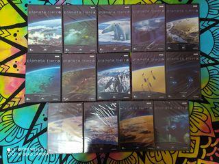 serie documental completa PLANETA TIERRA en dvd