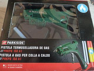 pistola termoselladora de gas