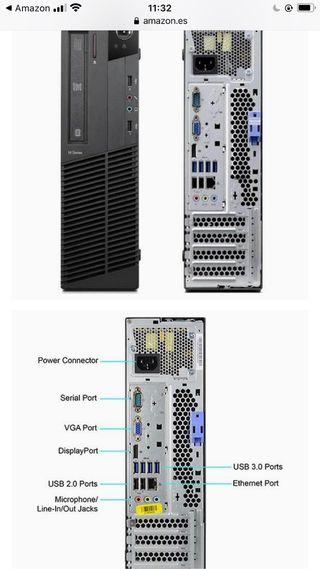 Lenovo thinkcentre 8gb ram i5 500gb hdd