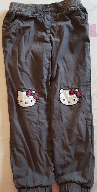 Pantalón de niña Hello Kitty Talla 4-6