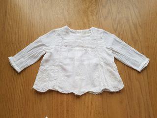 Camisa bebé 3-6 meses Zara