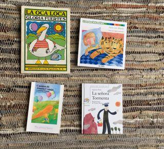 4 libros antiguos en muy buen estado 12€ 3 x 4