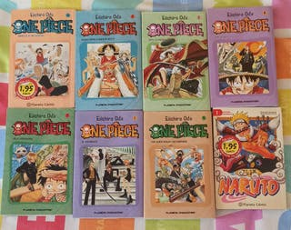 One Piece (1-7) + N°1 Naruto