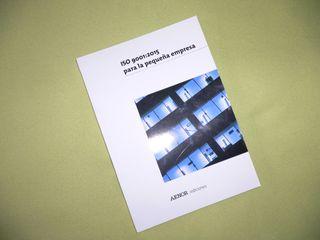 Libro ISO 9001:2015 pequeña empresa