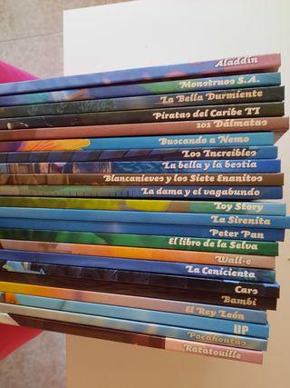 Coleccion peliculas de Disney en comics