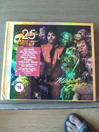 CD Michael Jackson 25 años thriller
