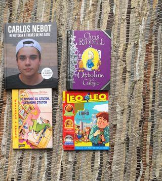 4 libros infantiles 6 a 11 años por solo 8€ pack