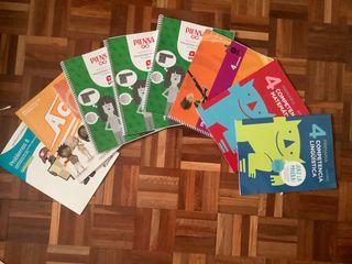 Lote libros cuarto de primaria