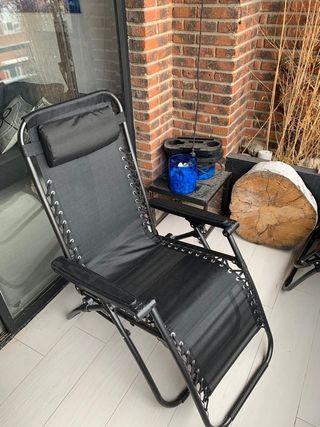 Tumbona reclinable jardín/terraza