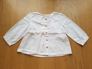 Camisa bebé 6-9 meses Zara
