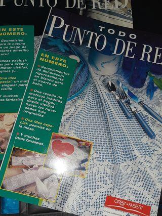 2 revistas de punto de red