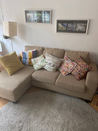 Sofá chaiselongue kivik ikea