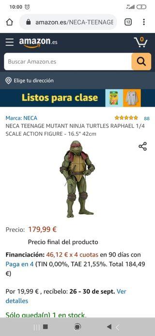 figura Raphael tortuga ninja