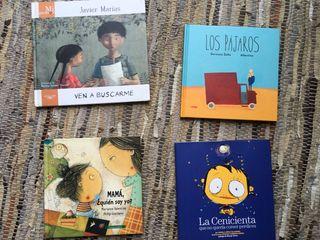 4 libros infantiles medianos