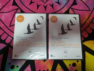 las alas de la naturaleza serie documental dvd 1y2