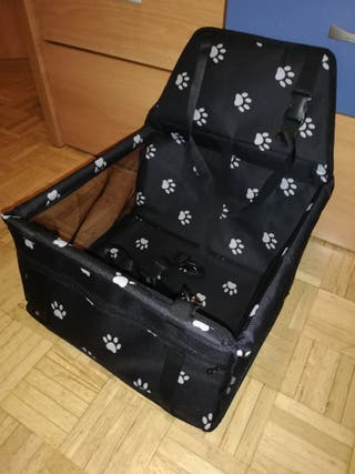 silla de coche para perros