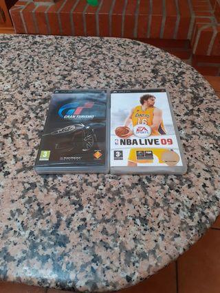 Juegos de la PSP