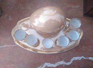 huevera porcelana hager alrededor del año 1900.