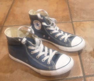 Bambas Converse All Star azules Talla 34