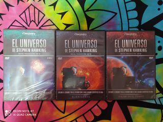 El universo de STEPHEN HAWKING serie dvd