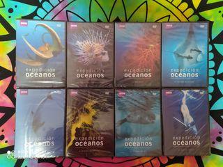 Expedicion oceanos serie documental de la BBC DVD