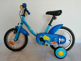 Bicicleta 14 pulgadas infantil niño
