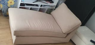 Sofá chaise longue kivik