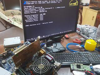 Placa base micro y memoria Pentium 4 2.4Ghz