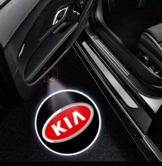 KIA proyector de logo para puertas.