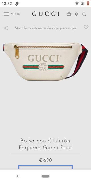 Gucci riñonera