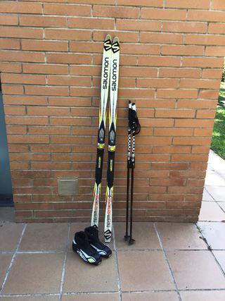 Esquí de Fondo equipo infantil