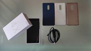 Xiaomi Redmi Note 4X+cargador+3 fundas