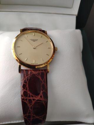Reloj Longines clasico 18k hombre
