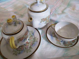 juego de té japones, Gheisa