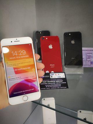 IPhone 8 original y libre garantía+factura+regalo