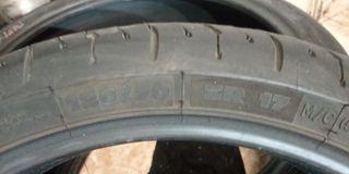 Michelin 2 ct al 90% delantero 120/70/17