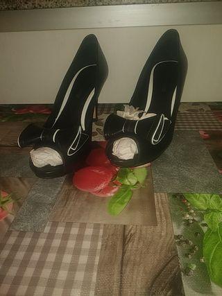 zapatos tacón Gloria Ortiz número 39