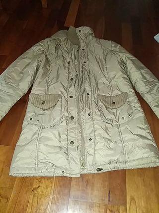 abrigo plumas mujer ropa invierno