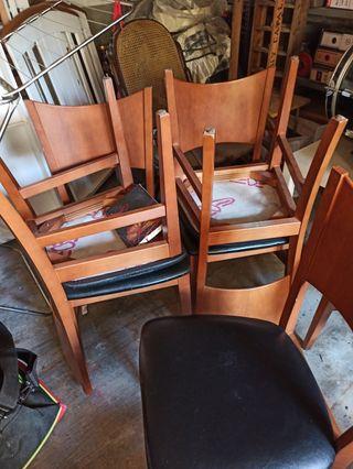 6 sillas de comedor / cadires menjador