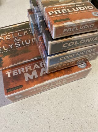 Terraforming mars juego de mesa