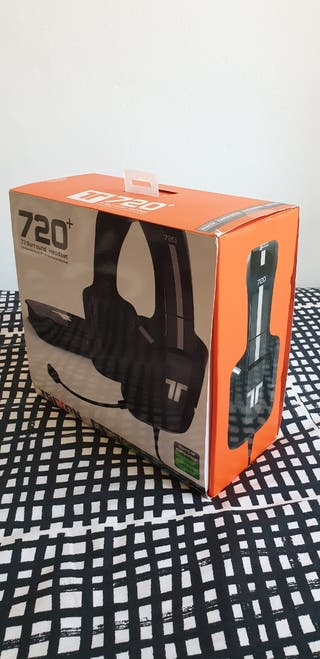 Tritton AX 720 Plus DH 7.1 XBOX/PS3/PS4/PC Negros