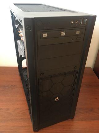 Torre corsair dual xeon x79 Lga2011 Gaming