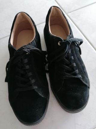 Zapatillas estilo ante
