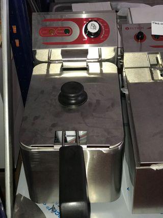 FREIDORA ELÉCTRICA INDUSTRIAL 4 litros