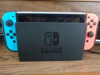 nintendo switch+juegos+2mandos