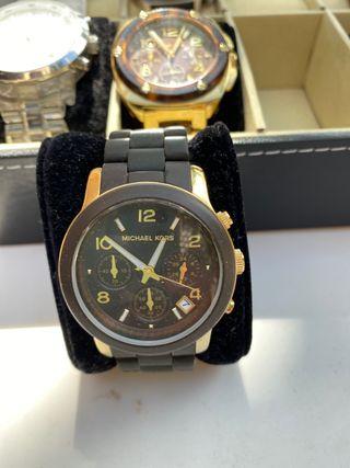 Reloj Michael Kors oro y marrón mujer