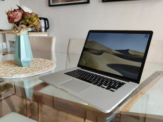 Macbook Pro 15 i7, 16gb ram Impecable
